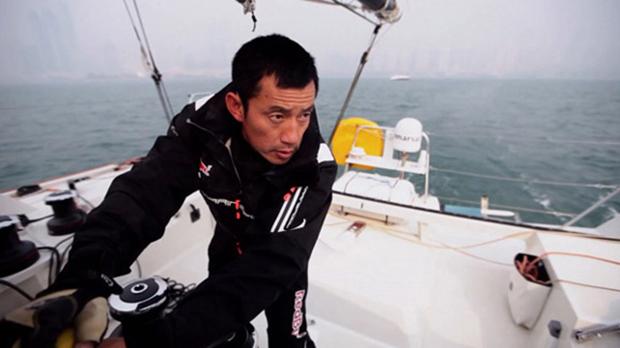 台风季后的青岛帆船拓展感悟:郭川为什么要去航海?