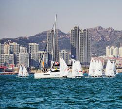 帆船活动很有魅力