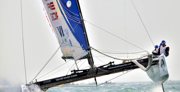 乘风破浪双向帆船